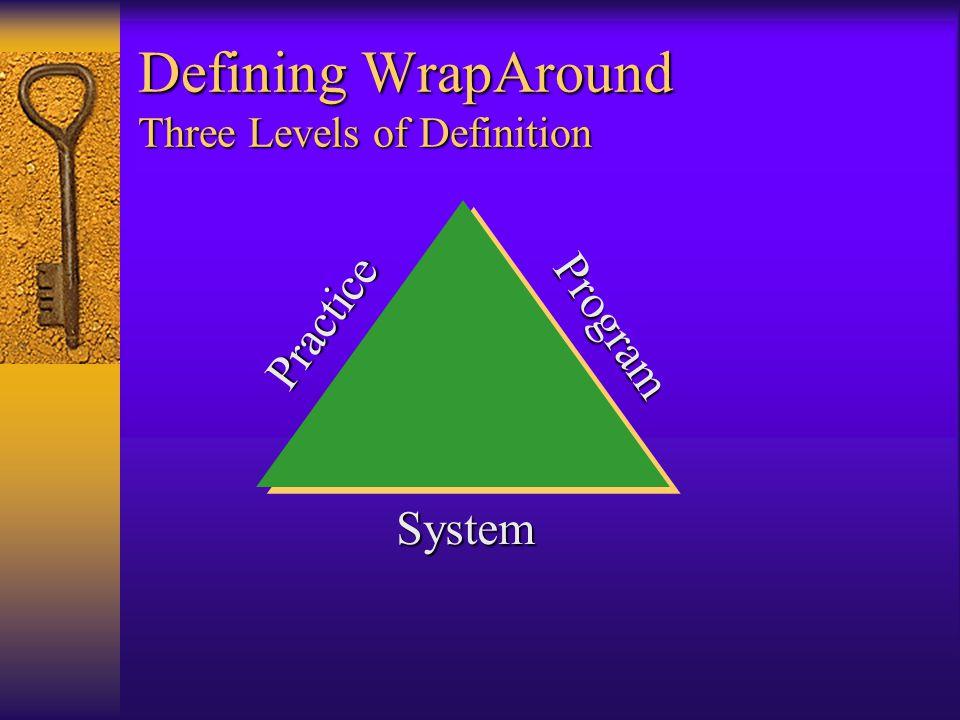 Defining WrapAround Three Levels of Definition