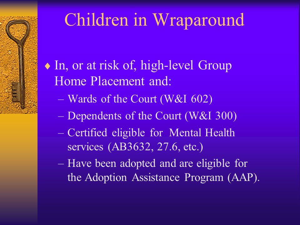 Children in Wraparound