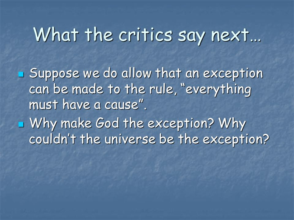 What the critics say next…