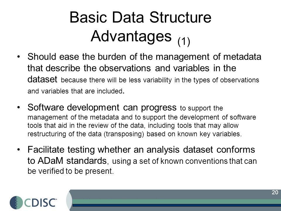 Basic Data Structure Advantages (1)