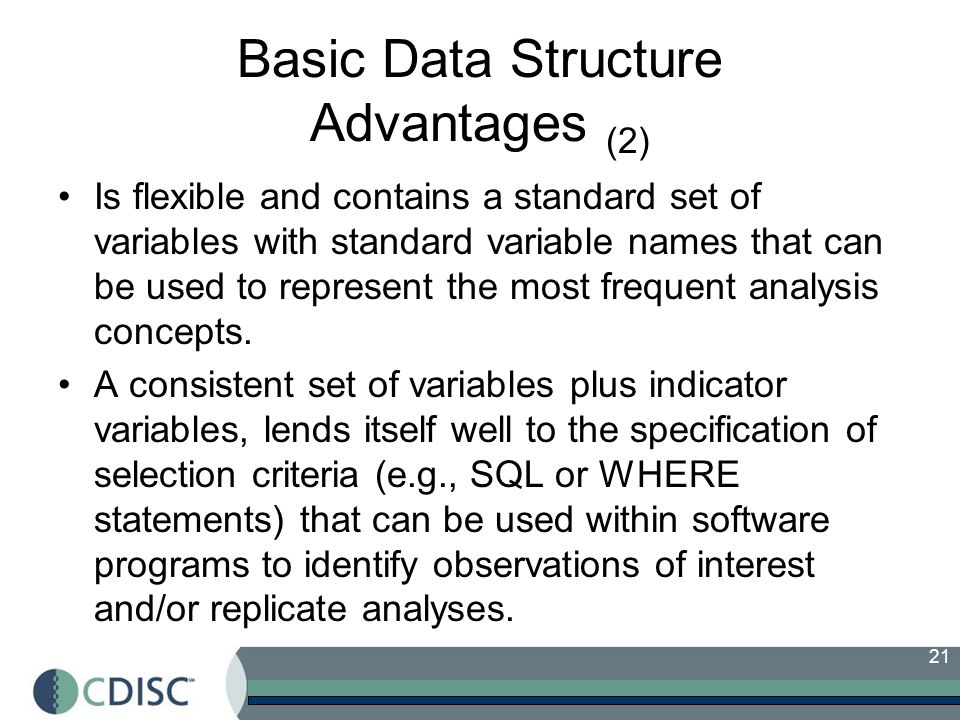 Basic Data Structure Advantages (2)