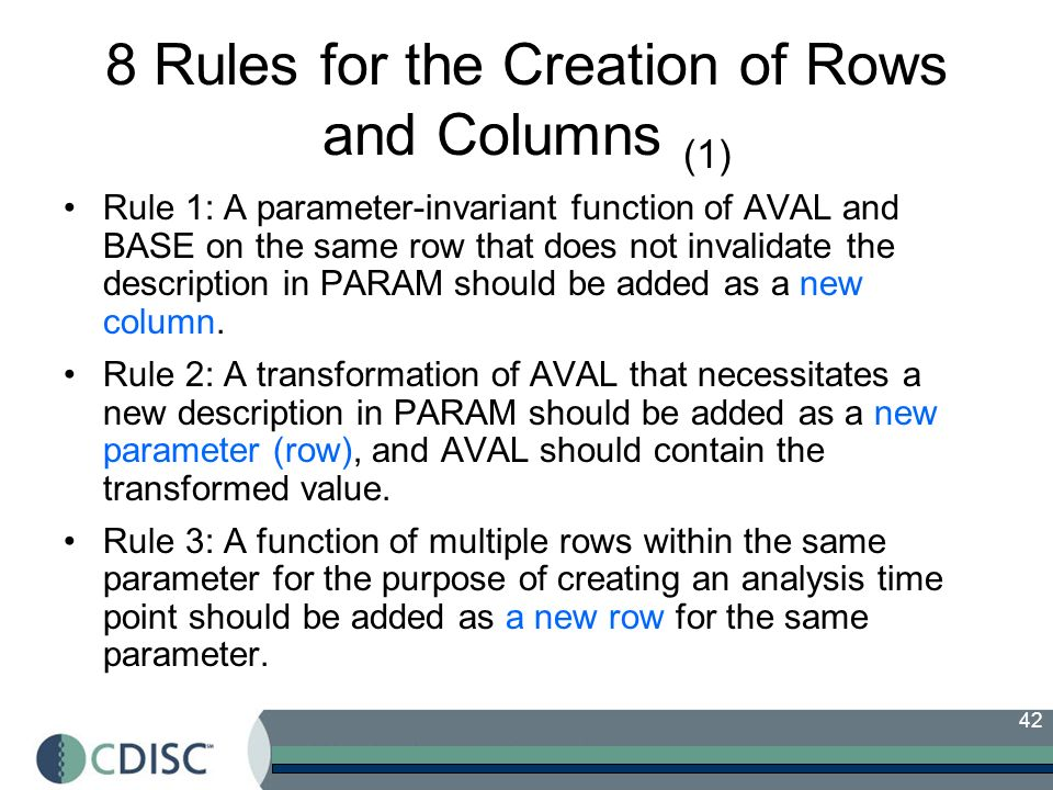 8 Rules for the Creation of Rows and Columns (1)