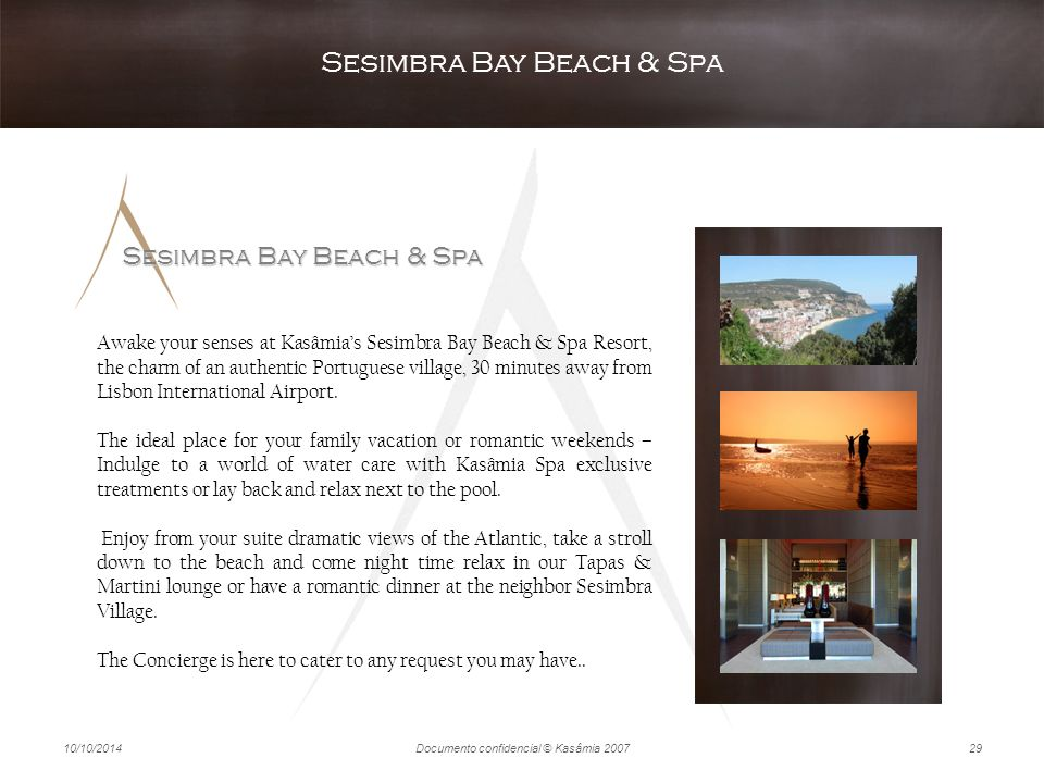 Sesimbra Bay Beach & Spa