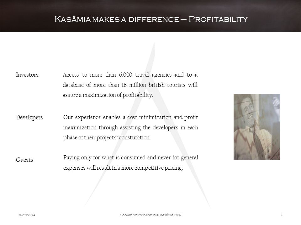 Kasâmia makes a difference – Profitability