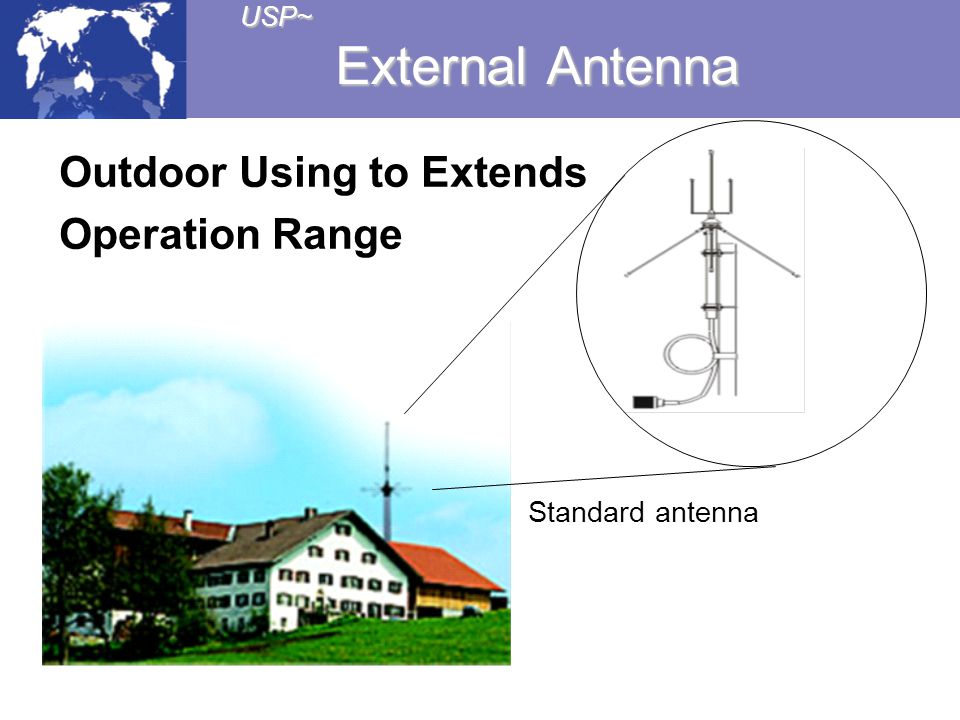 Outdoor Using to Extends Operation Range