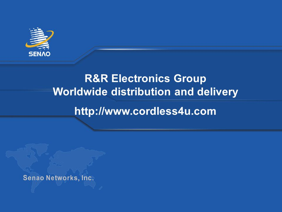 R&R Electronics Group Worldwide distribution and delivery http://www