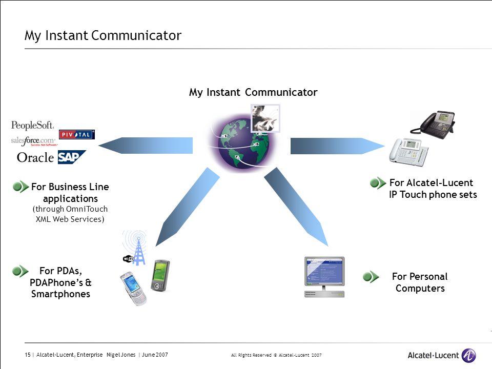 My Instant Communicator