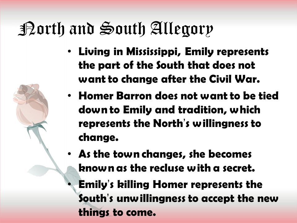 North and South Allegory