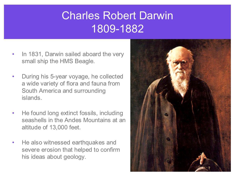 Charles Robert Darwin 1809-1882