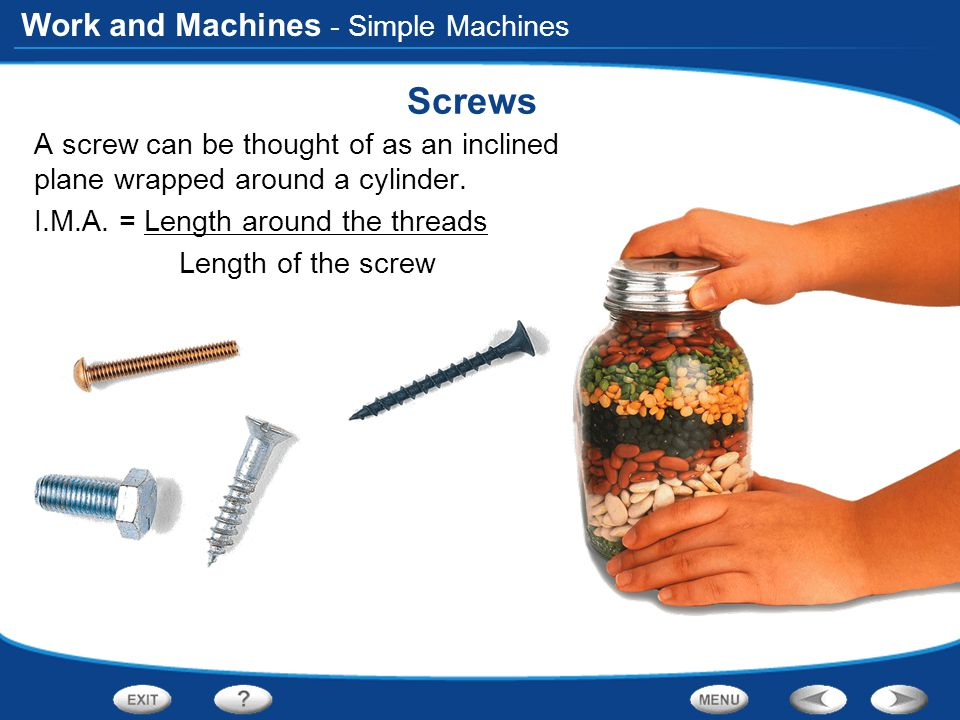 Screws - Simple Machines