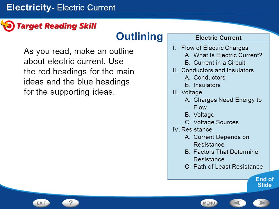 Outlining - Electric Current