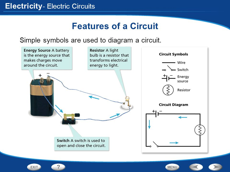 Features of a Circuit - Electric Circuits