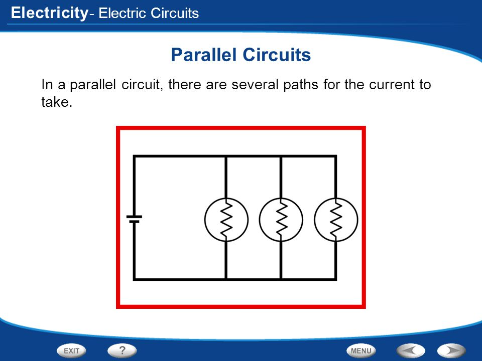 Parallel Circuits - Electric Circuits