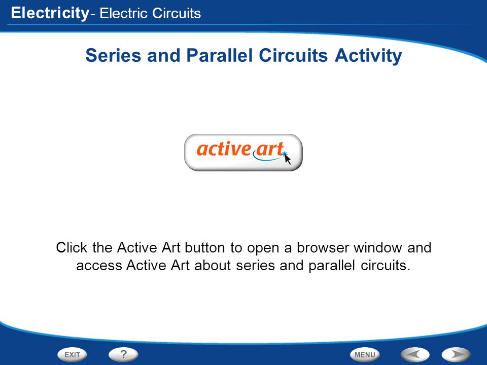 Series and Parallel Circuits Activity