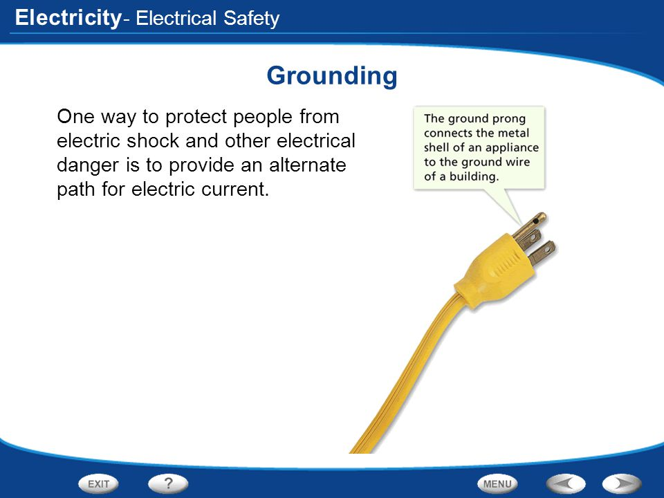 Grounding - Electrical Safety