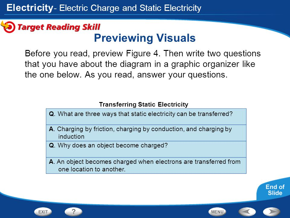 Transferring Static Electricity