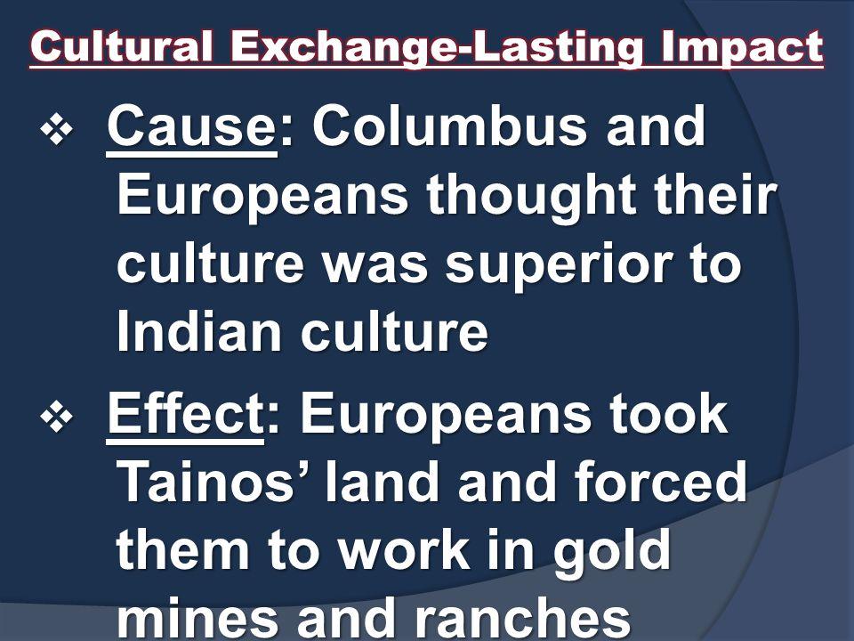 Cultural Exchange-Lasting Impact