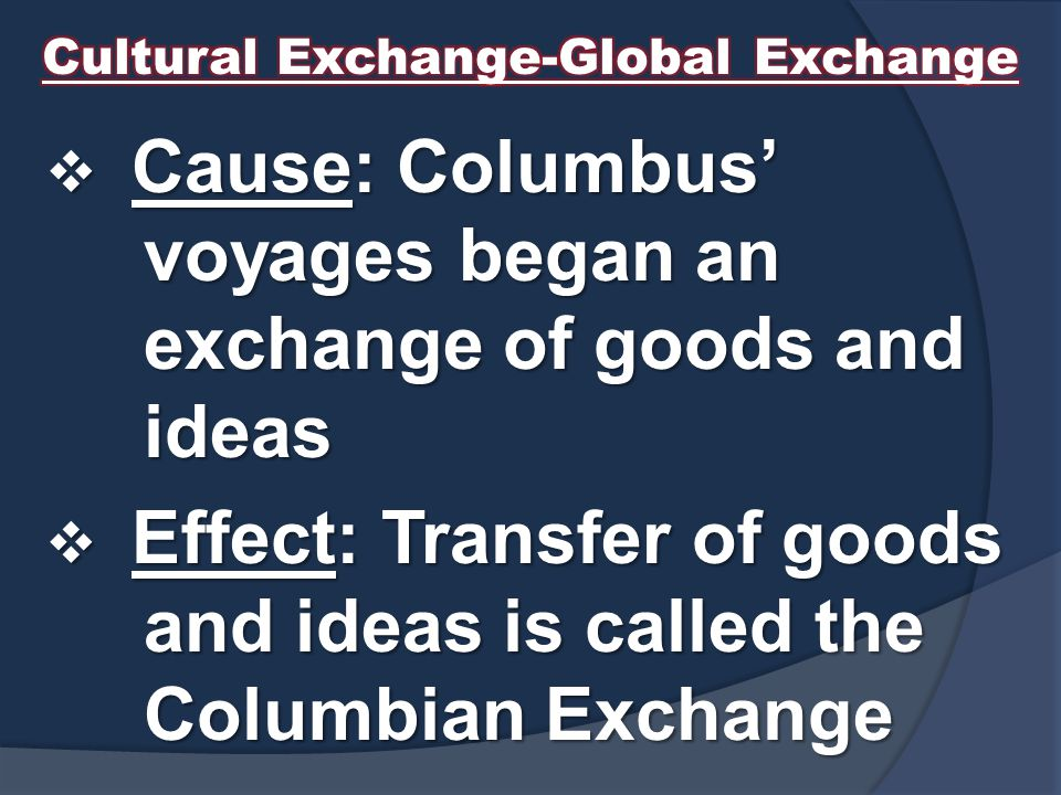 Cultural Exchange-Global Exchange