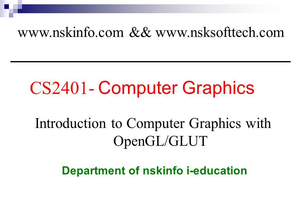 Department of nskinfo i-education