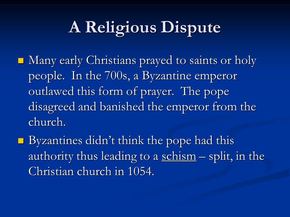 A Religious Dispute