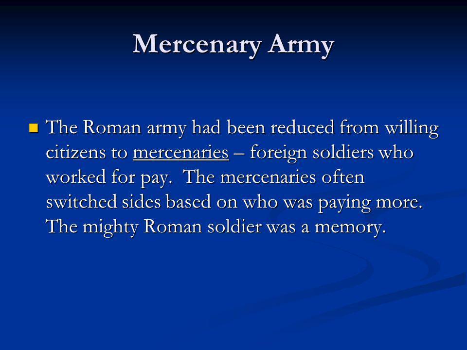 Mercenary Army