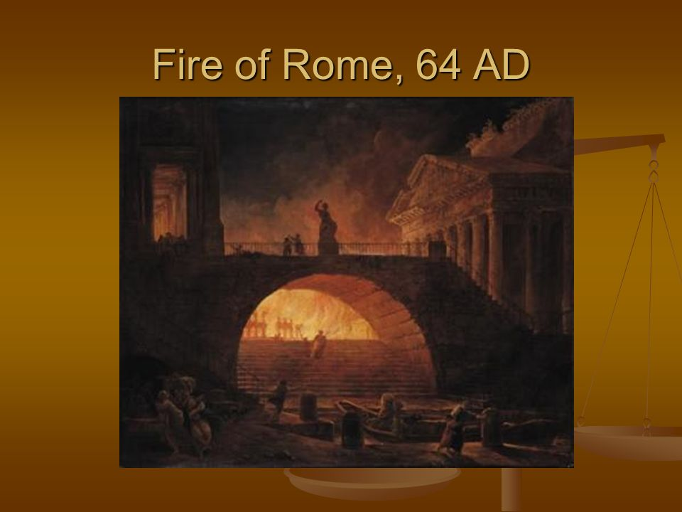 Fire of Rome, 64 AD