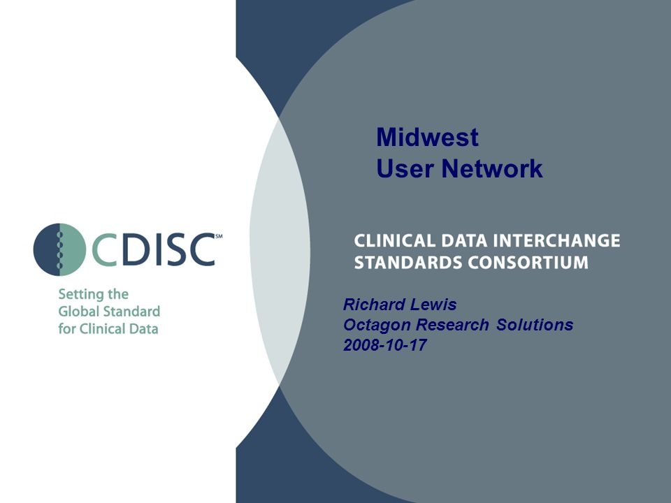 Midwest User Network Richard Lewis Octagon Research Solutions