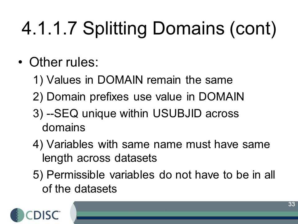 4.1.1.7 Splitting Domains (cont)