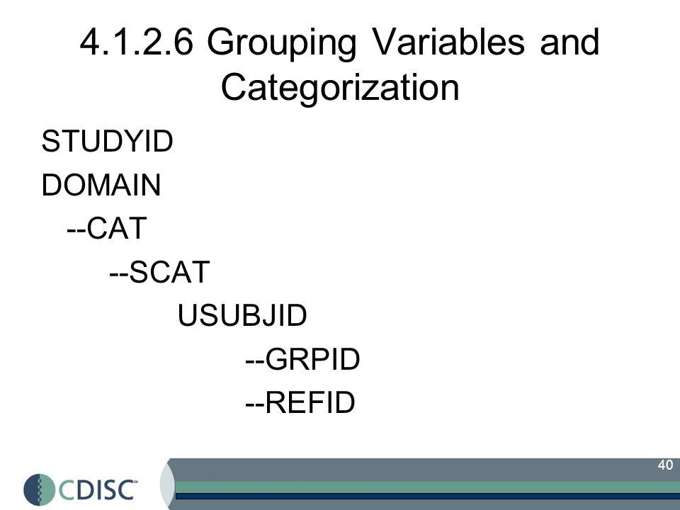 4.1.2.6 Grouping Variables and Categorization