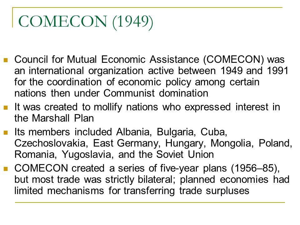 COMECON (1949)