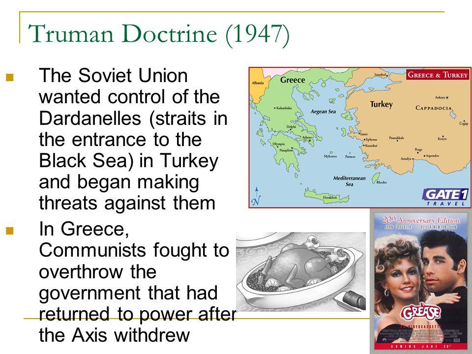 Truman Doctrine (1947)