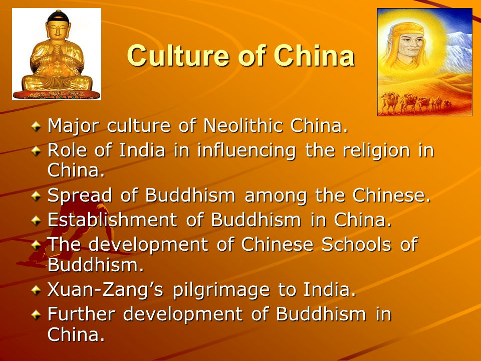 Religious development in china and india