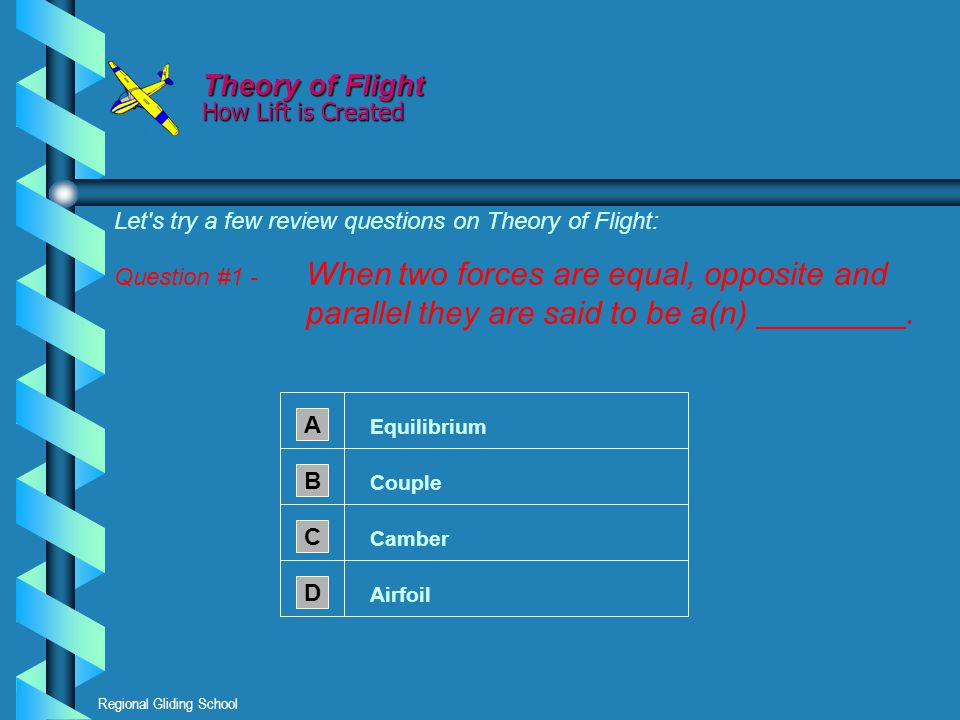 Theory of Flight How Lift is Created