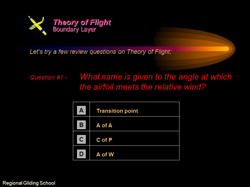 Theory of Flight Boundary Layer