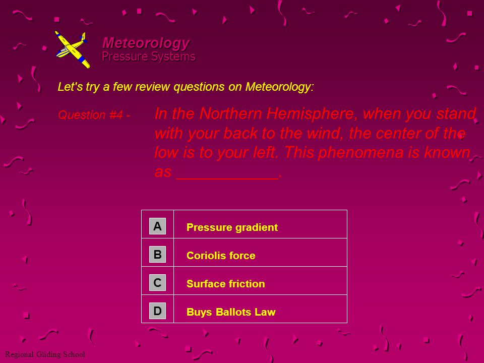Meteorology Pressure Systems