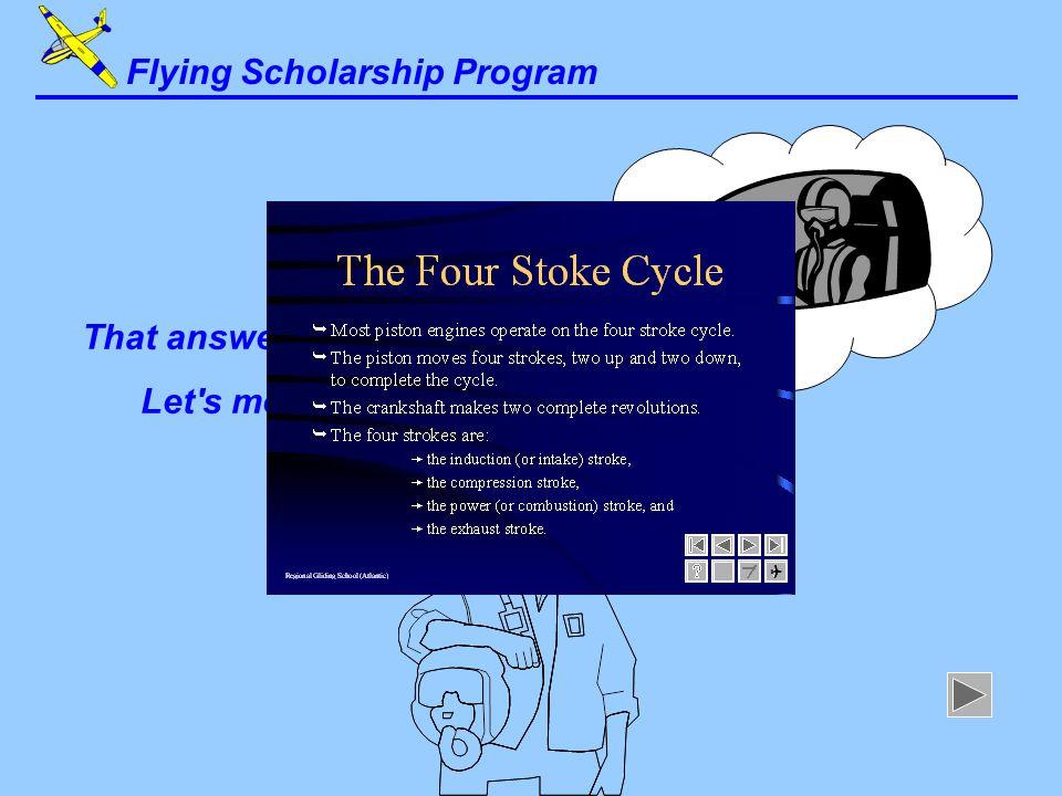 Flying Scholarship Program