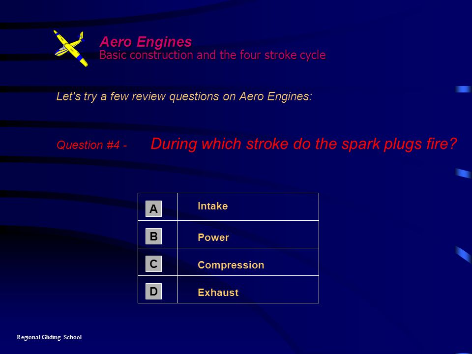 Aero Engines Basic construction and the four stroke cycle
