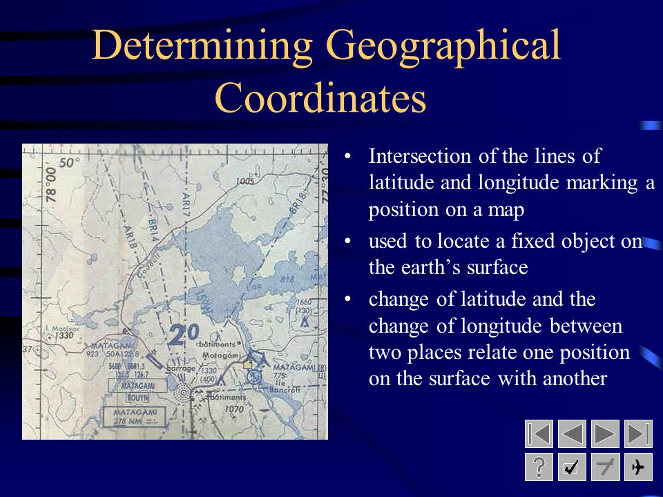 Determining Geographical Coordinates