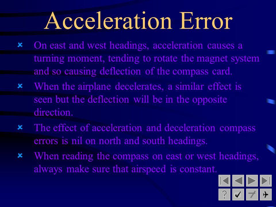 Acceleration Error