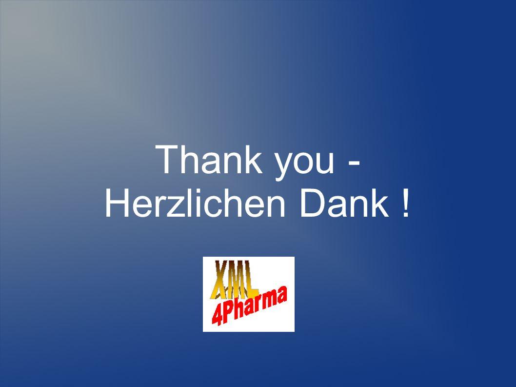Thank you - Herzlichen Dank !