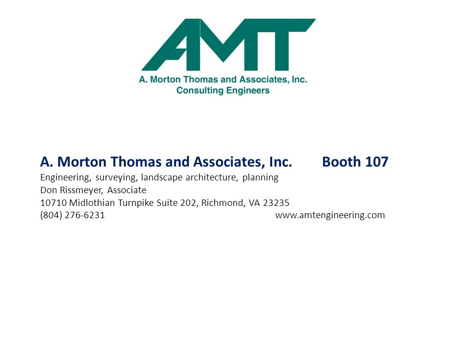 A. Morton Thomas and Associates, Inc