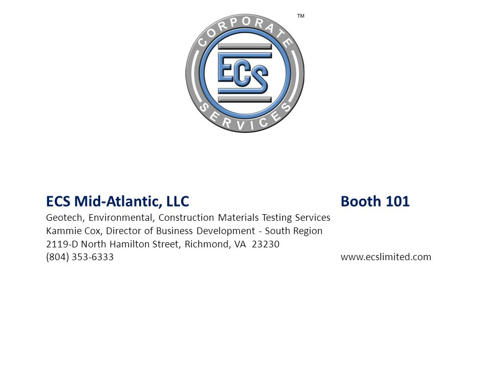 ECS Mid-Atlantic, LLC Booth 101