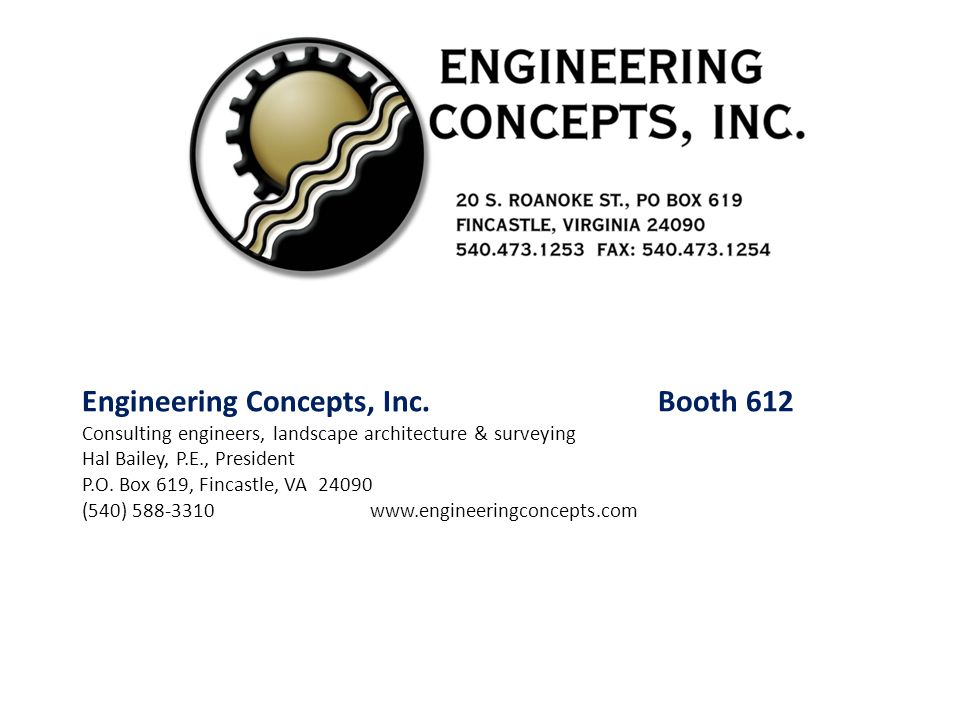 Engineering Concepts, Inc. Booth 612