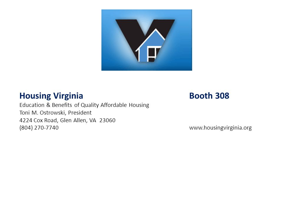 Housing Virginia Booth 308