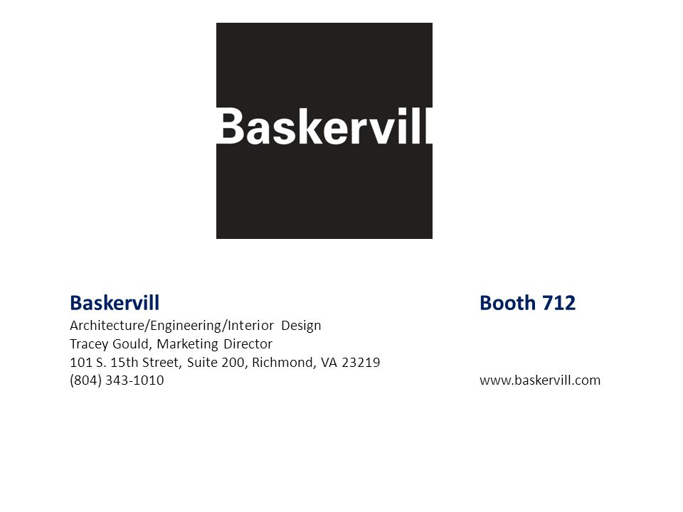 Baskervill Booth 712 Architecture/Engineering/Interior Design