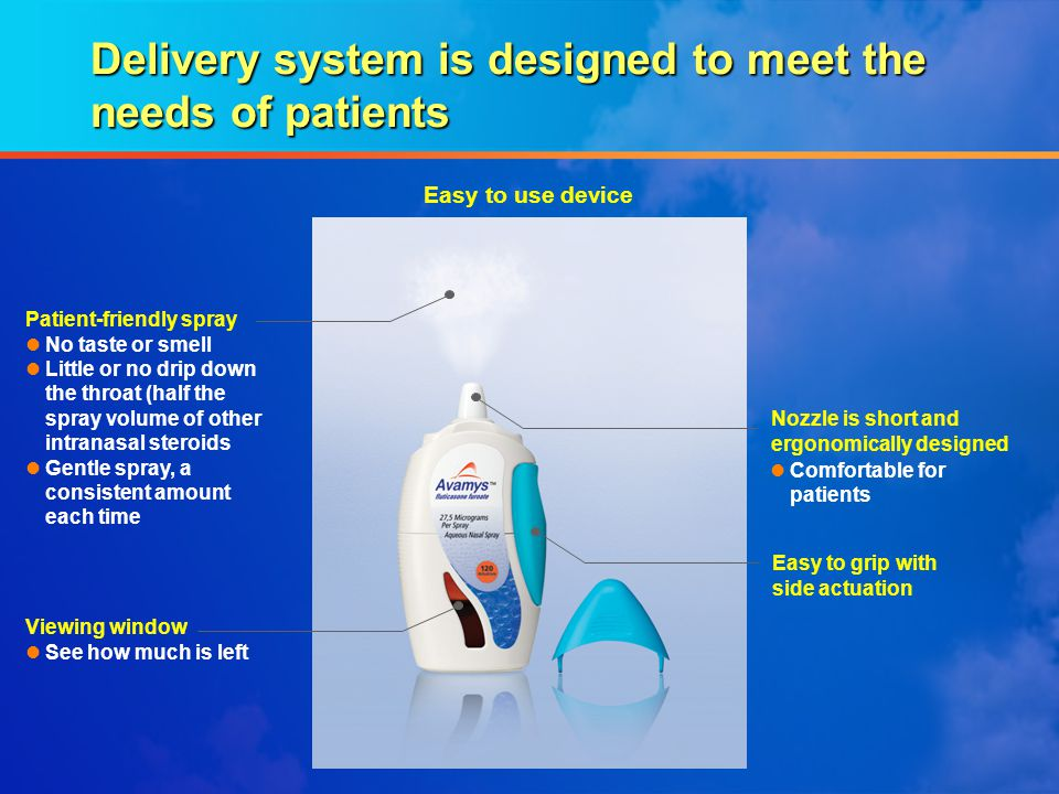 Delivery system is designed to meet the needs of patients