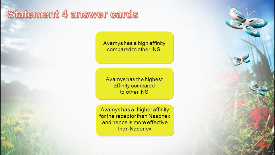 Statement 4 answer cards