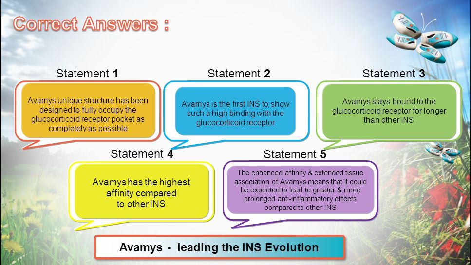 Avamys - leading the INS Evolution