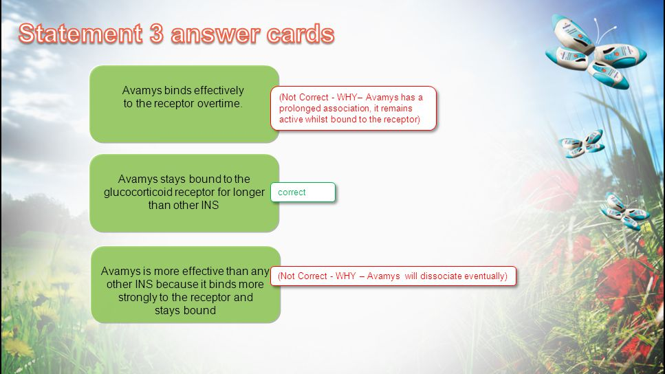 Statement 3 answer cards