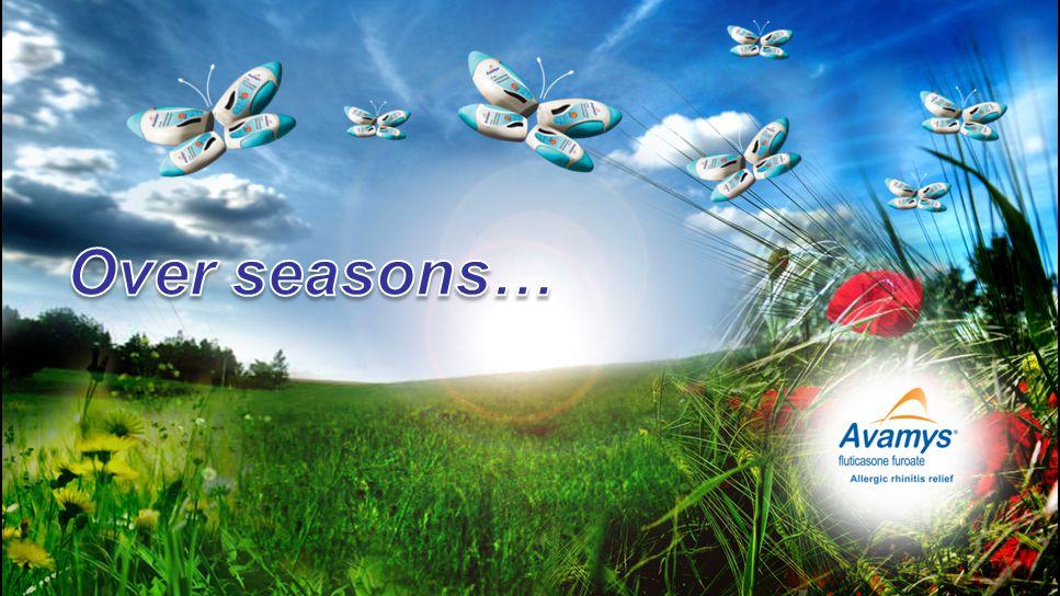 Over seasons…